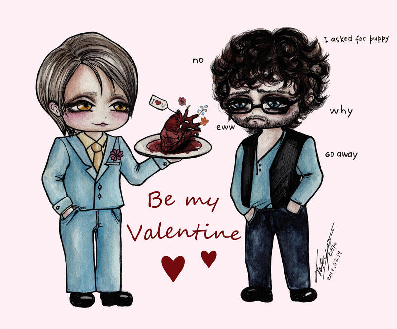 Hannibal: Be My Valentine by Ascendead--Master