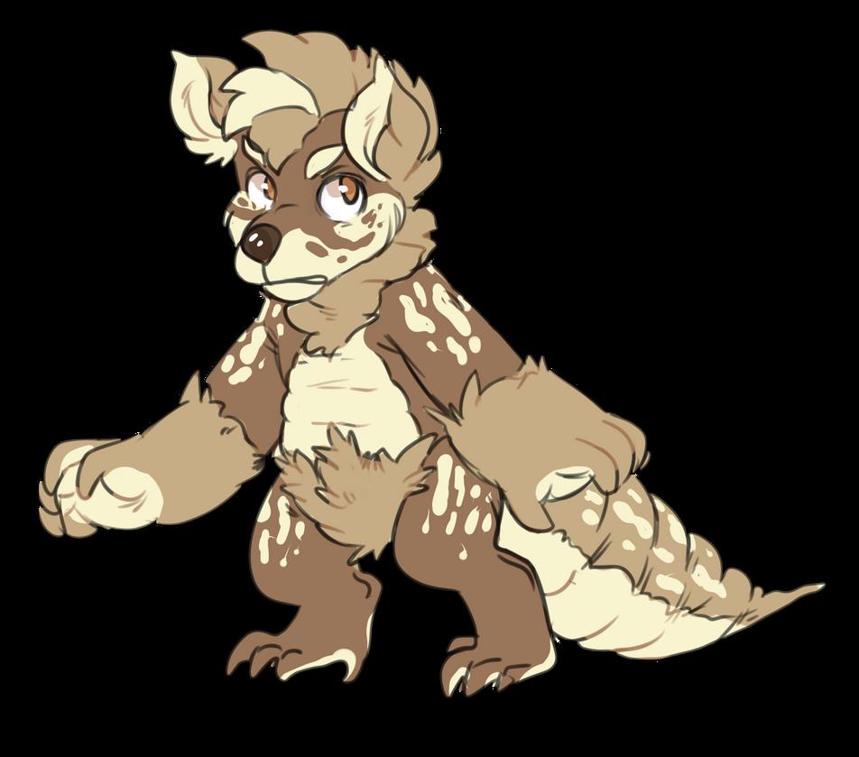 Poopie Lizard by pitbullie