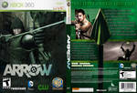 CW's ARROW XBOX 360 VIDEO GAME COVER