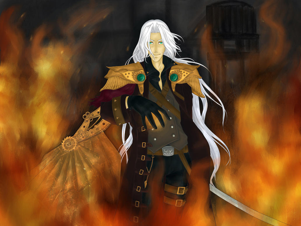 Steampunk Sephiroth by LonelyEva