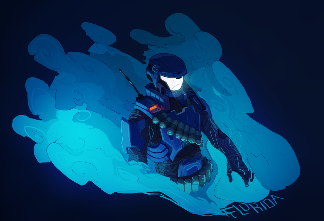 RvB Agent Florida by Hanna-Cepeda on DeviantArt