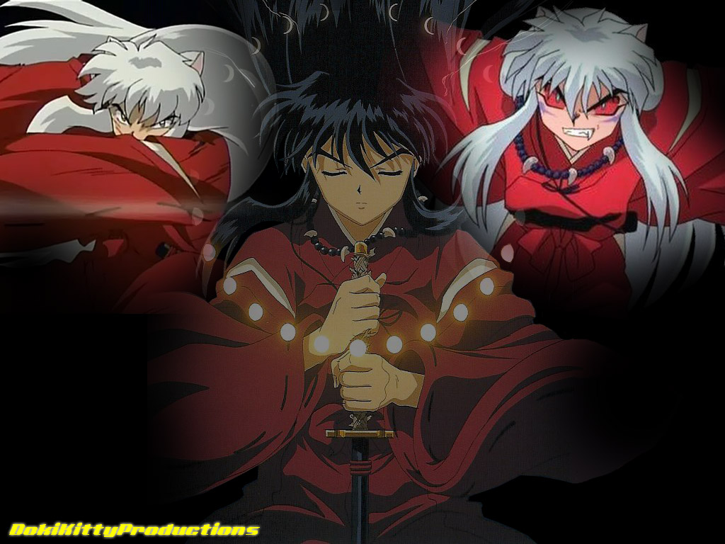 The Three forms of Inuyasha by dokikittyproductions on DeviantArt