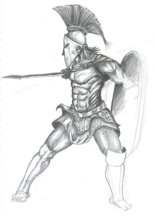 spartan warrior by SAWg3rd