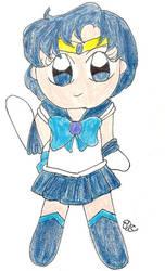 Water Senshi of Cute by QTZephyr
