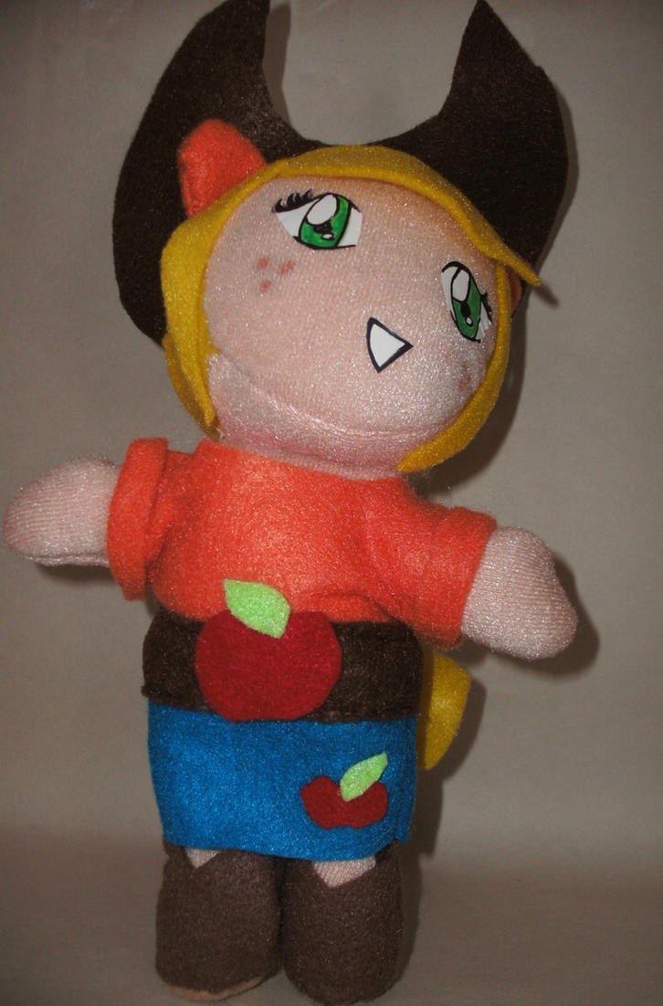 Human Applejack Plush by QTZephyr