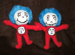 Commission: Thing 1 Thing 2