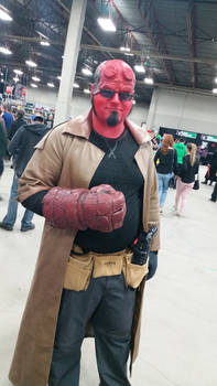 Regina Fan Expo 2016 Hellboy