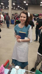 Fan Expo Regina 2016 Historically Accurate Belle by QTZephyr
