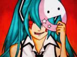 Miku Hatsune --yandere mode by notadz7292