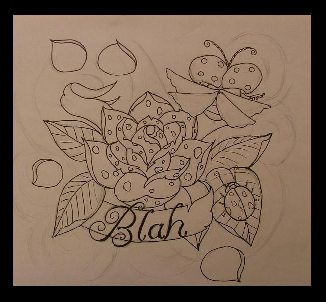 Camera Line Drawing Tattoo : Blah tattoo line drawing by thepaperraper on deviantart