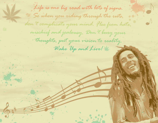 Bob Marley Background by XkoolXsoxX