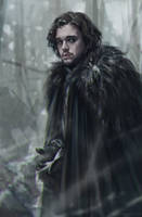 John Snow by BilberryCat