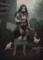 Chiken by BilberryCat