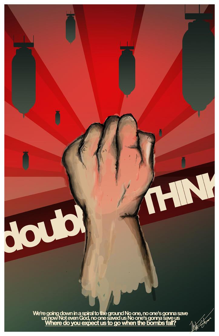 DOUBLEthink by xnus-art