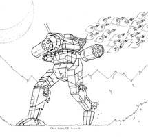 Striders Strikers Orion by Steel-Raven