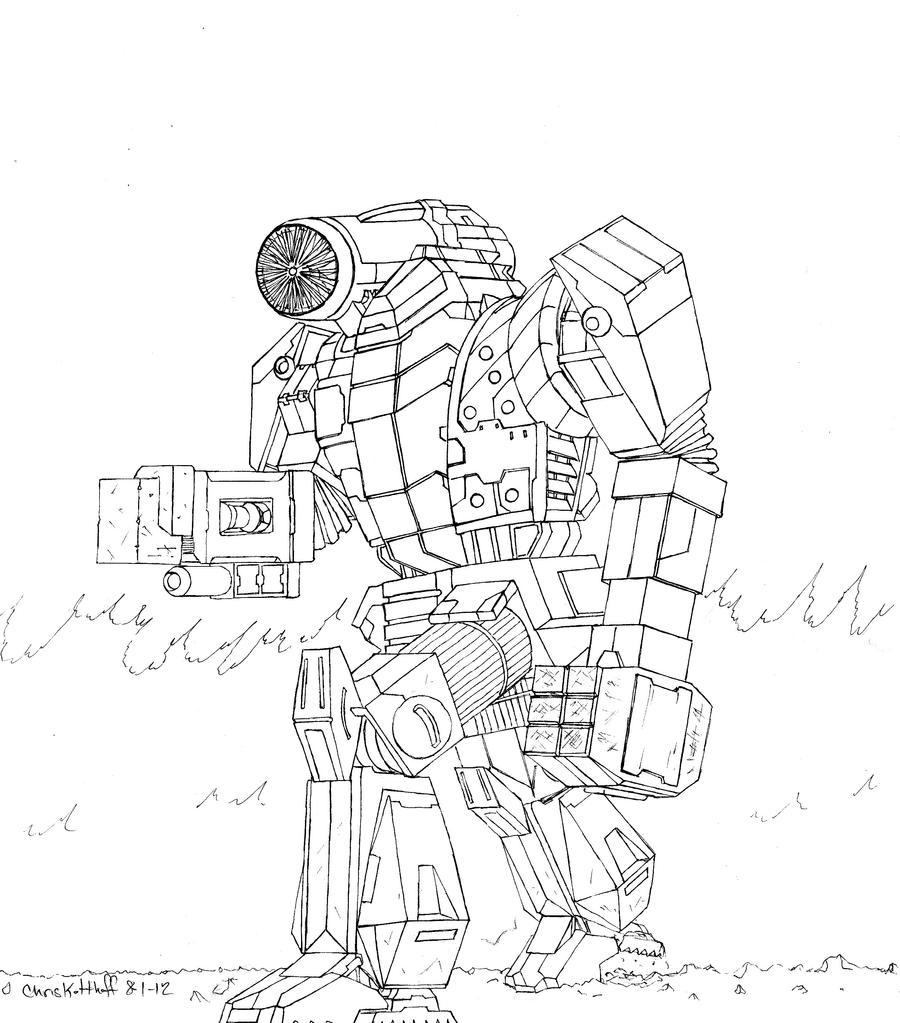 Strider's Strikers Infighter by Steel-Raven