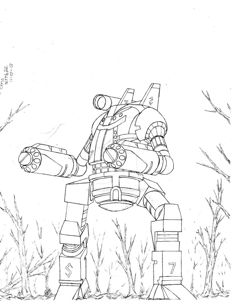 Battletech Shogun by Steel-Raven