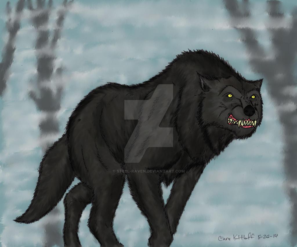 Dire Wolf Prowl by Steel-Raven