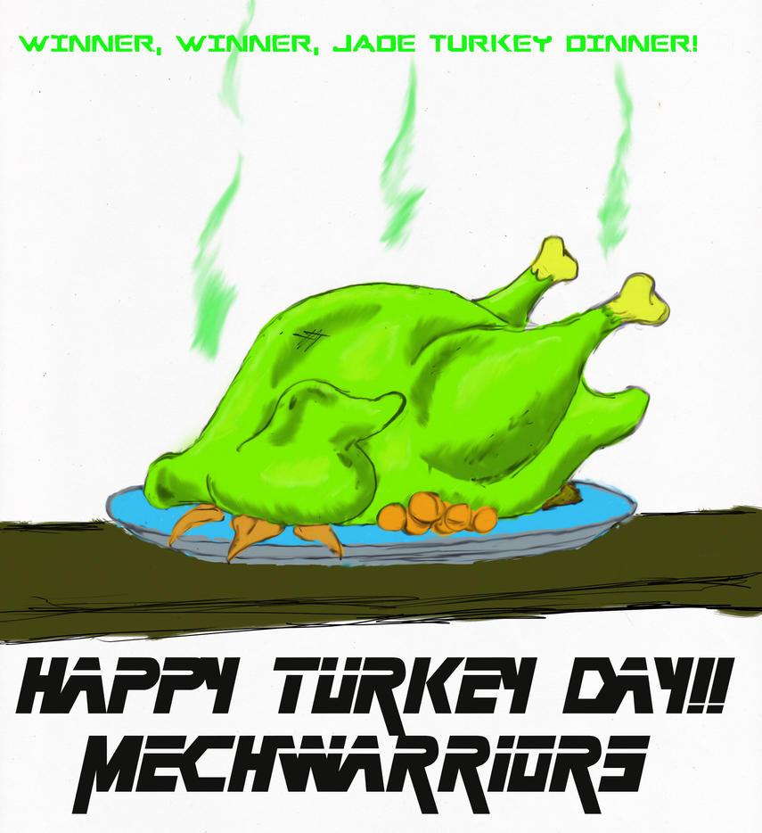 Happy Jade Turkey Day by Steel-Raven