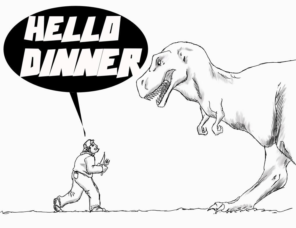 Happy T-Rex Day by Steel-Raven