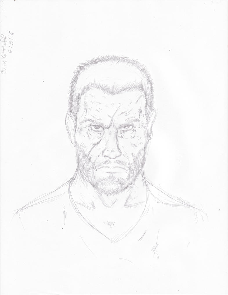 Kevin Carthage Character sketch 3050 by Steel-Raven