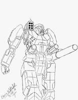 BattleTech: Banshee BNC-3S V