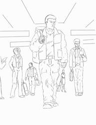 BT Comic Page layout