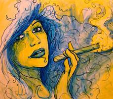 Smoke Break by captainlaziness