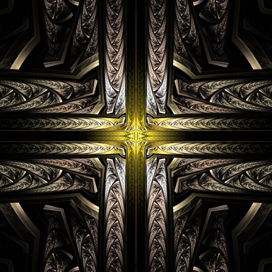 Celtic Cross of Light by hourglassthorne