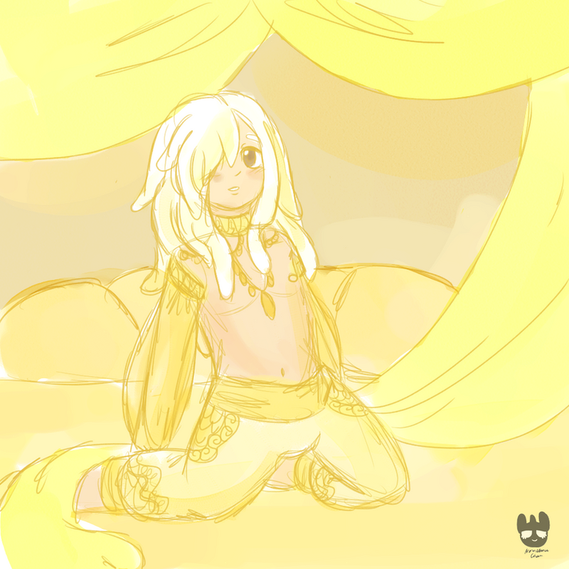 Yellow Room by NomnomuChan