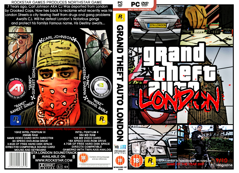 Gta 6 Cover: GTA San Andreas DVD Cover V2 By Ramz007 On DeviantArt