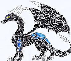 Cynder in Tribal Art