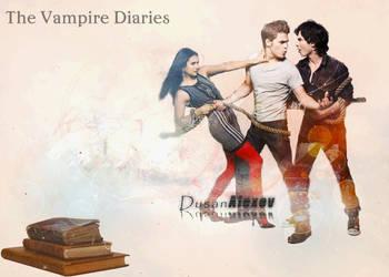 The Vampire Diaries by DusanAlexov