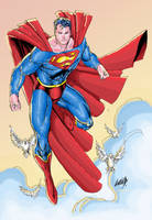 Superman colors by Absalom7