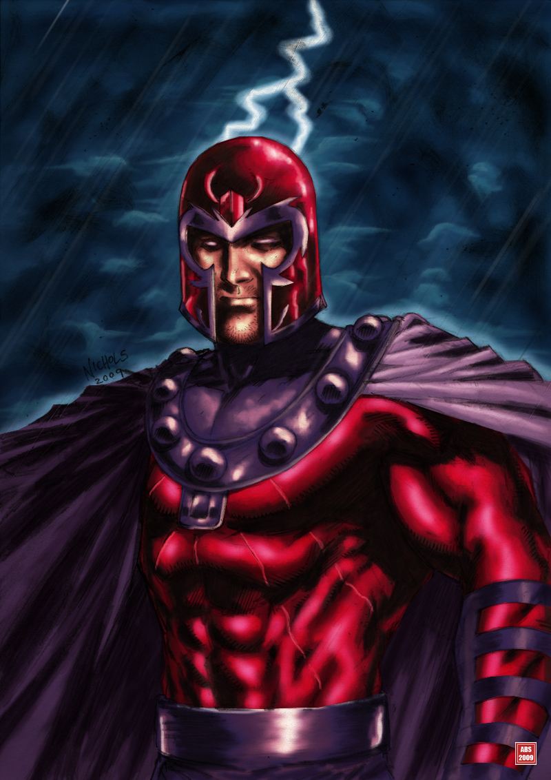 Magneto colors by Absalom7