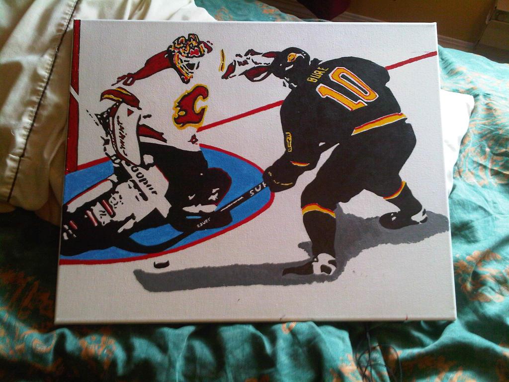 Game 7 vs. Calgary by kendallion