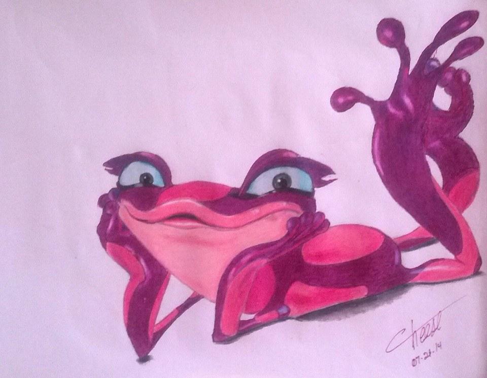 Gabi the Rio 2 Frog by cheese6623 on DeviantArt