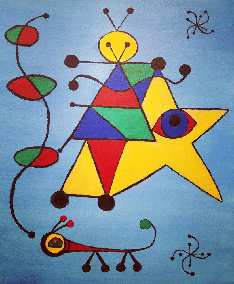 A Conversation with Joan Miro by cheese6623