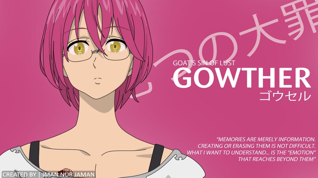 Gowther From Nanatsu No Taizai By Amanechi