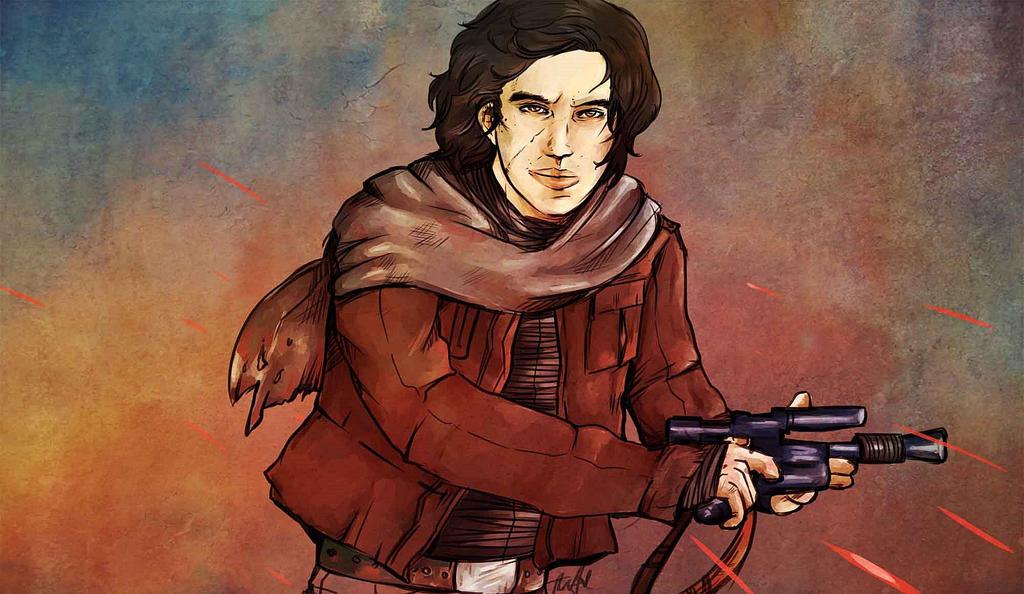 Smuggler Ben Solo by Stewjon on DeviantArt