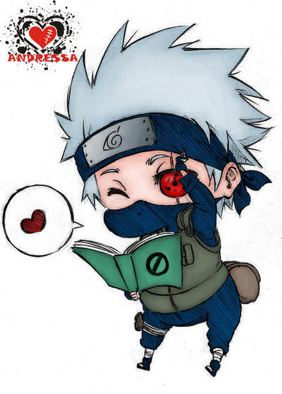 Naruto - Chibi Hatake Kakashi by andressacz on DeviantArt