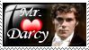 Mr. Darcy Stamp