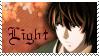 Light Death Note Stamp