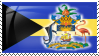 Bahamas Flag Stamp by Neyjour