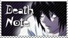 L Death Note Stamp 3