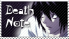 L Death Note Stamp 3 by Neyjour