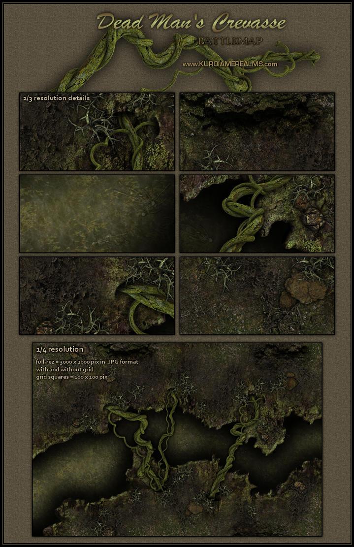 Dead Man's Crevasse by Neyjour