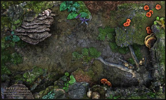 Deep Woods Sample Map