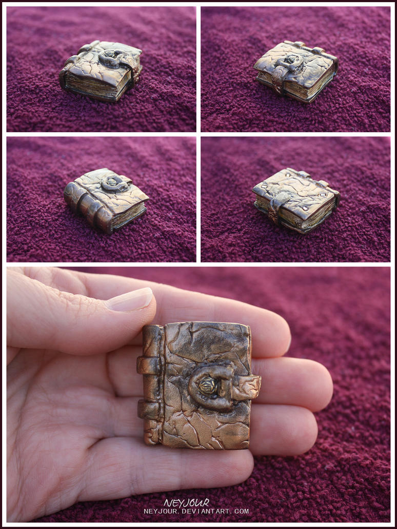 Bronze Leather Tome by Neyjour