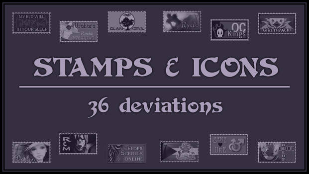 Main-Folder: Stamps and Icons